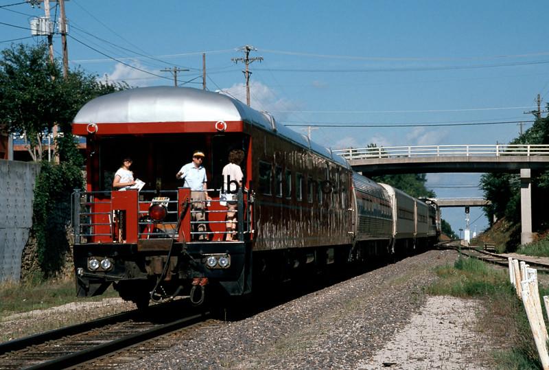 AM1990070905 - Amtrak, Warrensburg, MO, 7/1990