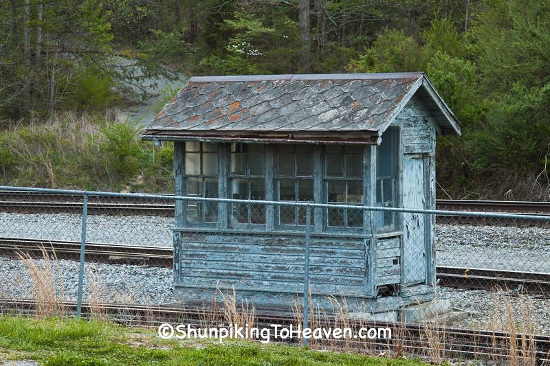 Railroad Scale House, Stearns, Kentucky