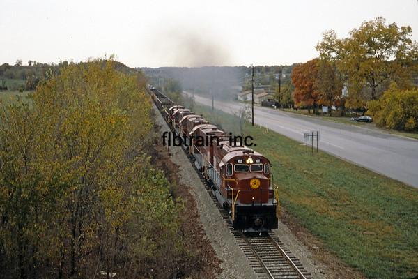 AMO1991100104 - Arkansas & Missouri, Springdale, AR, 10/1991