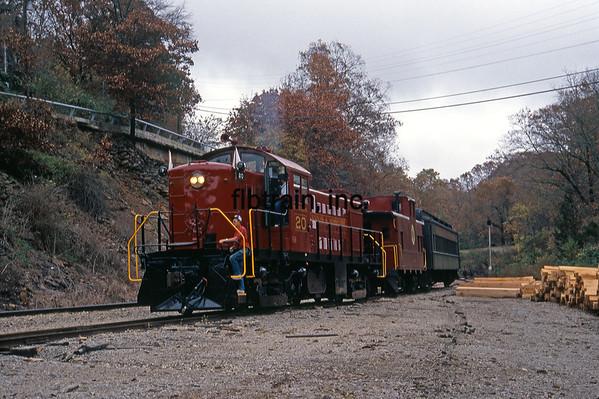 AMO1991100147 - Arkansas & Missouri, Winslow Tunnel, AR, 10/1991