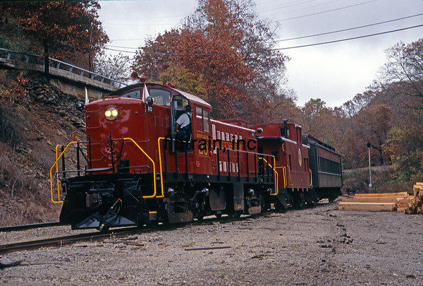 AMO1991100146 - Arkansas & Missouri, Winslow Tunnel, AR, 10/1991