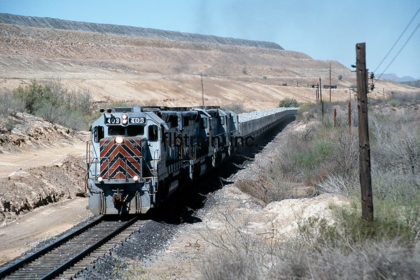 CBRY1999040004 - Copper Basin RR, Hayden, AZ, 4/1999