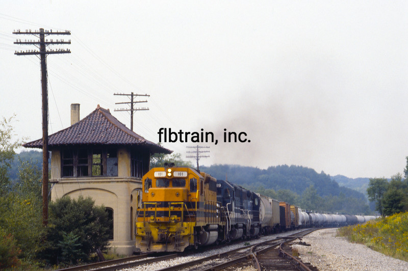 BP1992090047 - Buffalo & Pittsburgh, Dubois, PA, 9/1992
