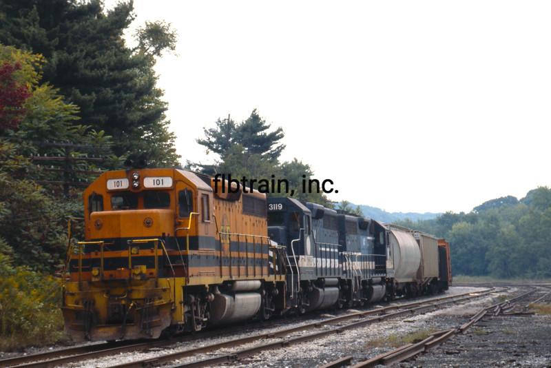 BP1992090056 - Buffalo & Pittsburgh, Dubois, PA, 9-1992