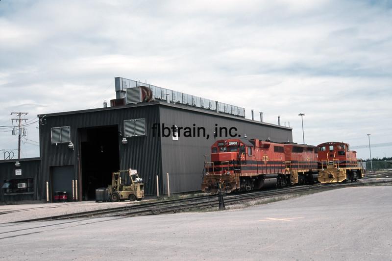 QGRY2000060025 - Quebec Gatineau Railway, Quebec City, Canada, 6-2000