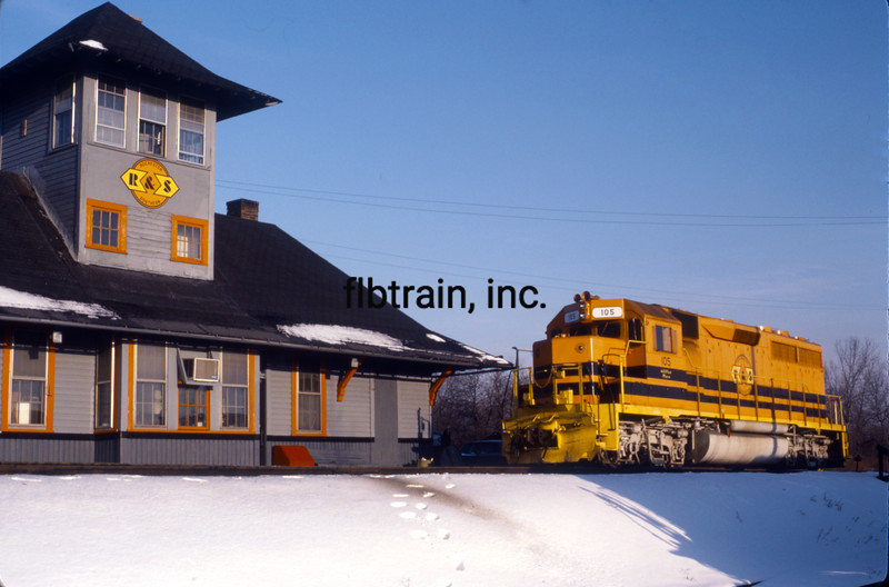 RS1987010011 - Rochester & Southern, Rochester, NY, 1/1987