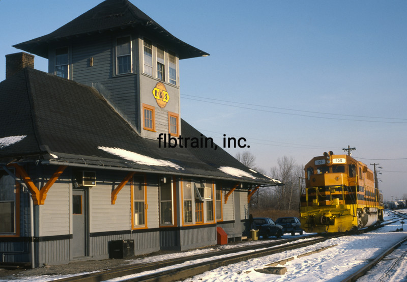 RS1987010003 - Rochester & Southern, Rochester, NY, 1/1987