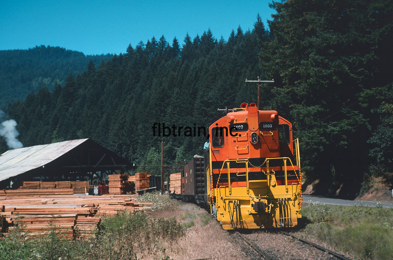 WPR1993080083 - Willamette & Pacific, Dawson, OR, 8/1993