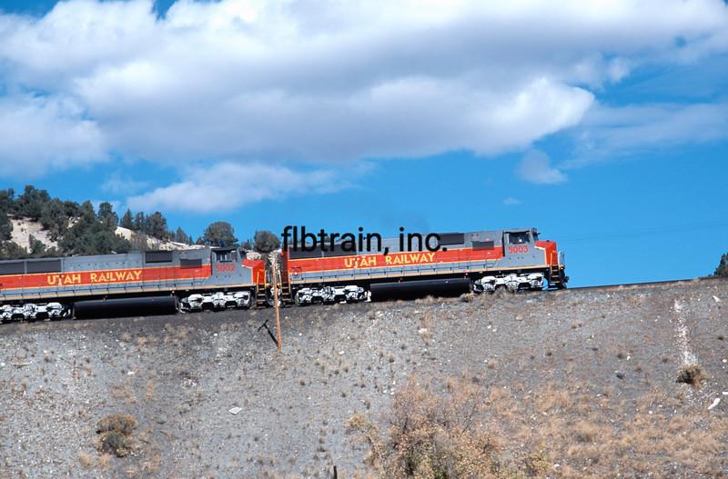 UT2005100010 - Utah Railway, Detour, UT, 7/1992