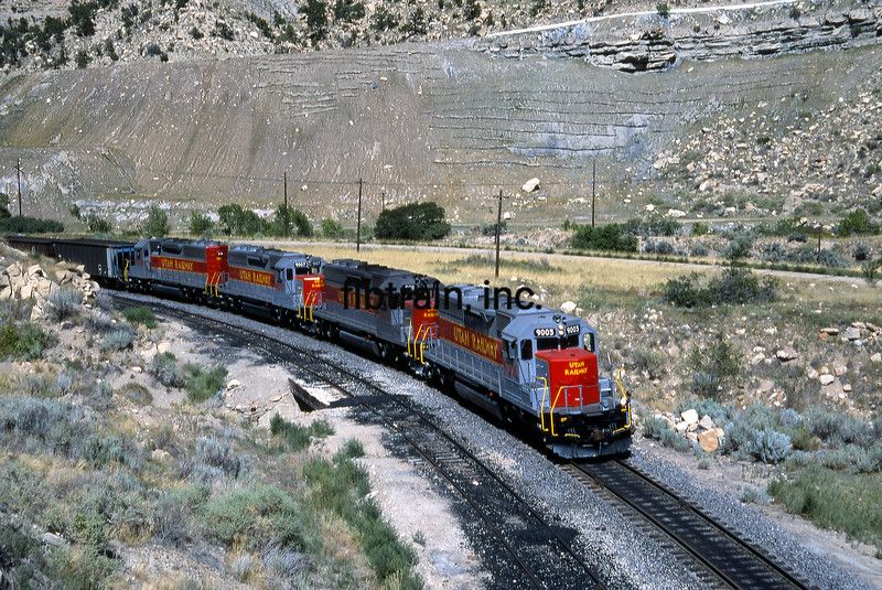 UT1992070011 - Utah Railway, Helper, UT, 7-1992