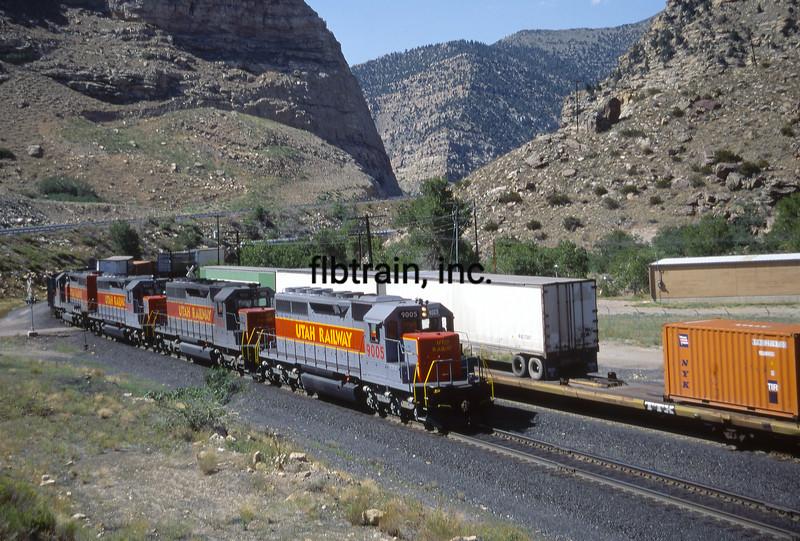 UT1992070003 - Utah Railway, Helper, UT, 7-1992