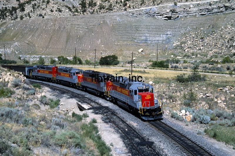 UT1992070010 - Utah Railway, Helper, UT, 7-1992