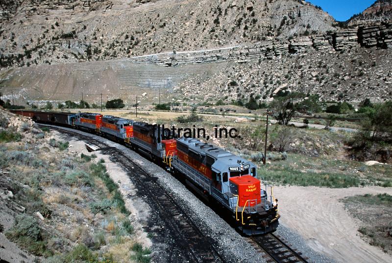 UT1992070017 - Utah Railway, Helper, UT, 7/1992