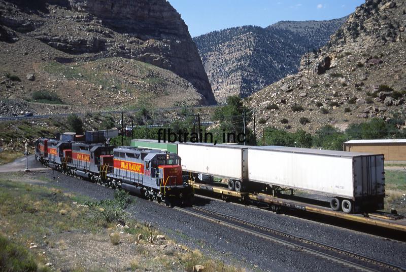 UT1992070001 - Utah Railway, Helper, UT, 7-1992