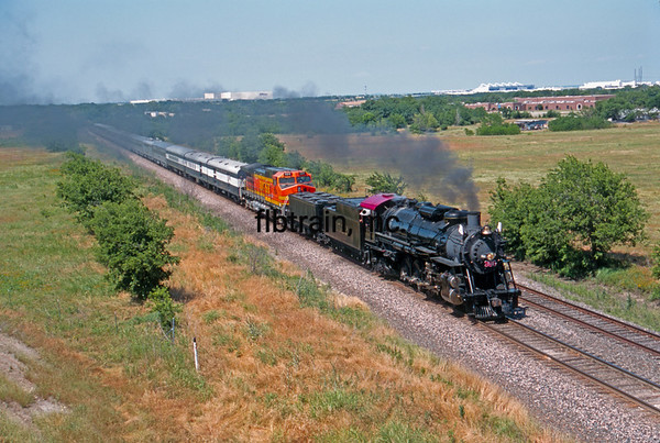 BNSF2001055120 - BNSF, Haslet, TX, 5-2001
