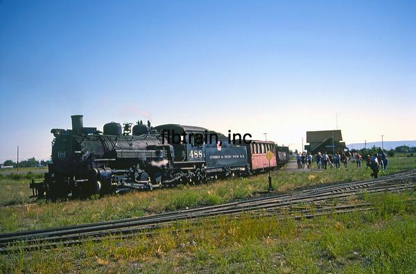 CT1988070004 - Cumbres & Toltec, Antonito, CO, 7/1988