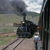 CT1988070043 - Cumbres & Toltec, Osier, NM, 7/1988