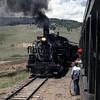 CT1988070044 - Cumbres & Toltec, Osier, NM, 7/1988