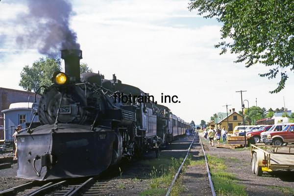 CT1999070013 - Cumbres & Toltec, Chama, NM, 7-1999