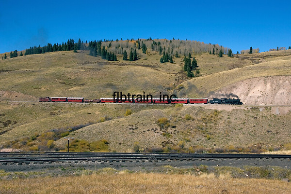 CT2008105356 - Cumbres & Toltec, Osier, CO, 10/2008