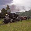 CT1988070104 - Cumbres & Toltec, Highway 17, NM, 7-1988