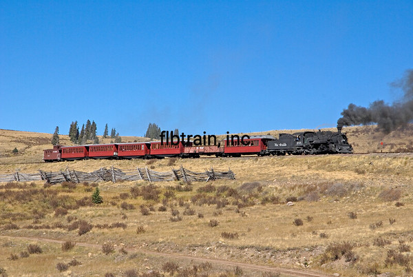 CT2008105414 - Cumbres & Toltec, Osier, CO, 10/2008