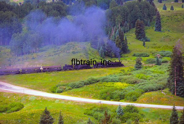 CT1999070084 - Cumbres & Toltec, Windy Point, NM, 7/1999