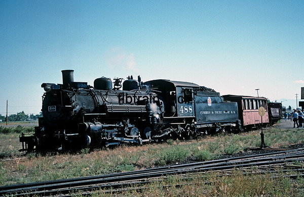 CT1988070001 - Cumbres & Toltec, Antonito, CO, 7/1988