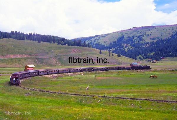 CT1999070176 - Cumbres & Toltec, Los Pinos, CO, 7/1999