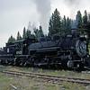CT1988070085 - Cumbres & Toltec, Cumbres Pass, NM, 7-1988