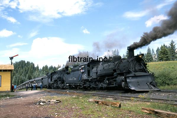 CT1999070094 - Cumbres & Toltec, Cumbres Pass, NM, 7/1999