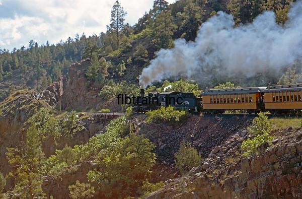 DAS1972080044 - Durango & Silverton, Silverton to Durango, CO, 8-1972