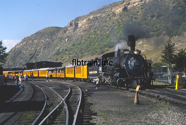 DAS1992070016 - Durango & Silverton, Silverton, CO, 7-1992