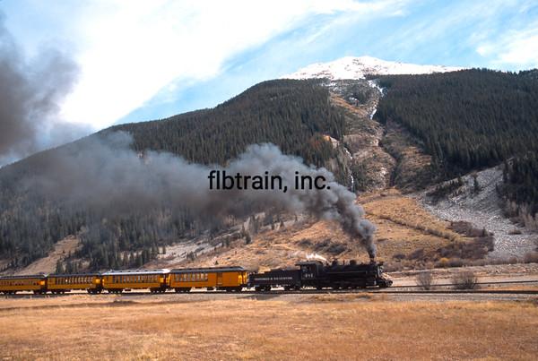 DAS2005100086 - Durango & Silverton, Silverton, CO, 10-2005