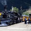 DAS1992070051 - Durango & Silverton, Durango to Silverton, CO, 7/1992.