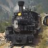 DAS1992070044 - Durango & Silverton, Durango to Silverton, CO, 7/1992.