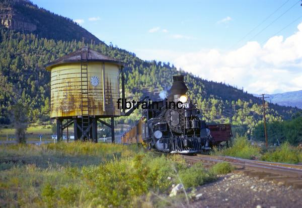 DAS1973090122 - Durango & Silverton, Hermosa CO, 9/1973