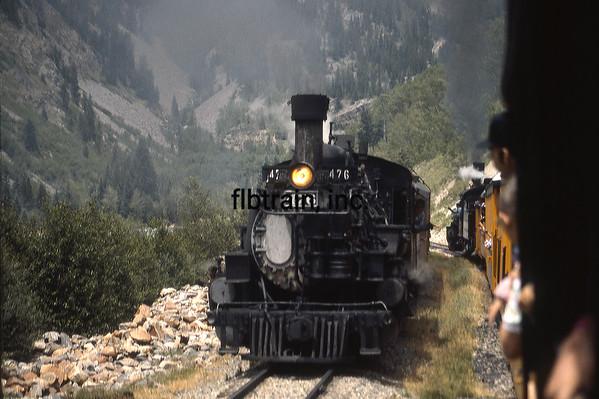 DAS1992070042 - Durango & Silverton, Durango-Silverton, CO, 7-1992
