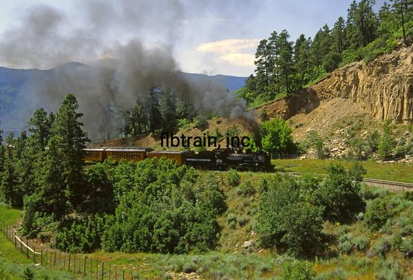 DAS1992070004 - Durango & Silverton, Hermosa, CO, 7/1992