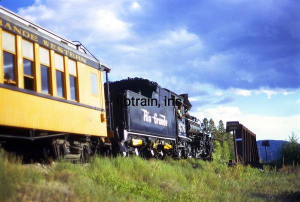 DAS1973090137 - Durango & Silverton, Hermosa CO, 9/1973