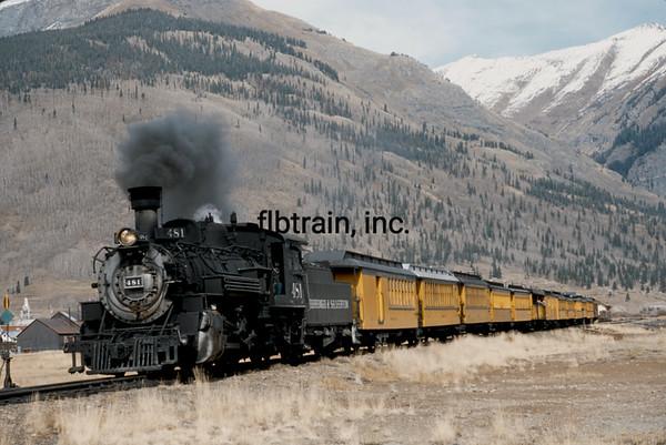 DAS2005100113 - Durango & Silverton, Silverton, CO, 10-2005