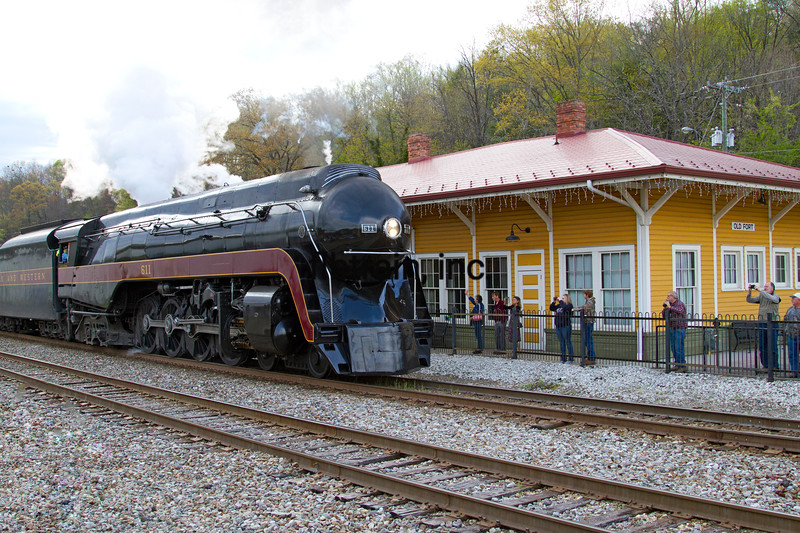 NW2016040391 - Norfolk & Western, Old Fort, NC, 4/2016