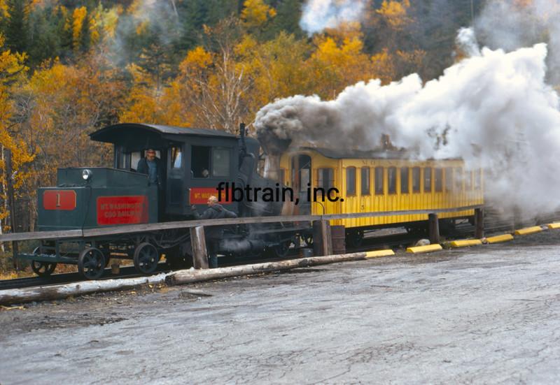 COG1971100013 - Mt. Washington Cog Railway, Mt. Washington, NH, 10-1971