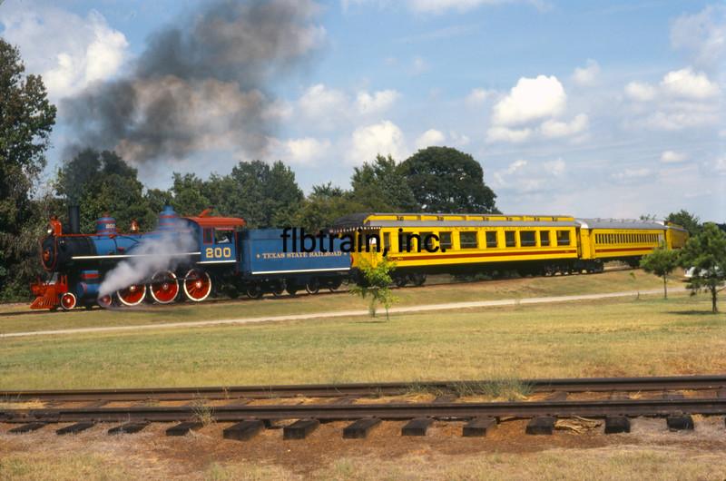 TSR1981080222 - Texas State Railroad, Rusk, TX, 8-1981