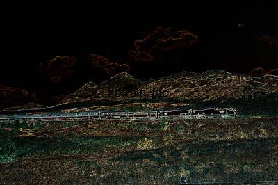 AM2007090004 - Amtrak, East Bison, MT, 9-2007