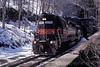 Photo 0675<br /> Guilford Transportation (Boston & Maine); Hoosac Tunnel, Massachusetts<br /> April 10, 2000