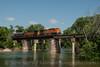 BNSF Railway (on KCS)<br /> Ginger Blue, Missouri<br /> June 16, 2014