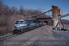 Photo 0185<br /> Conrail; Alsen, New York<br /> February 22, 1999