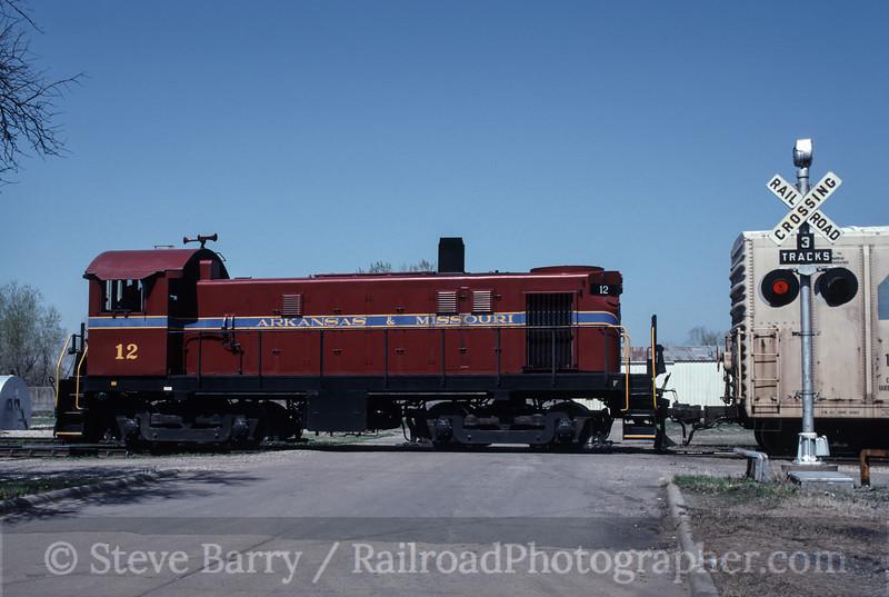 Photo 1734<br /> Arkansas & Missouri; Fort Smith, Arkansas<br /> April 9, 1993