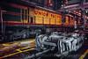 Photo 5056<br /> Union Pacific<br /> Jenks Shop, North Little Rock, Arkansas<br /> March 1993